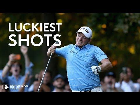 Luckiest Golf Shots Ever - European Tour