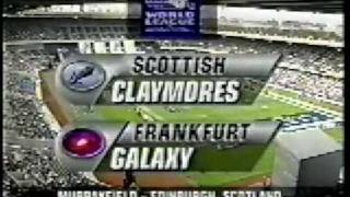 1996 World Bowl, Claymores vs Galaxy (1 of 5)