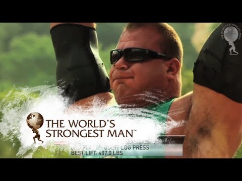 2010 Giant Log Press | World's Strongest Man