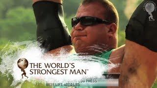 2010 Giant Log Press   World's Strongest Man
