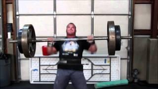 Derek Poundstone 2012 Arnold Classic Training Teaser