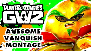 Plants vs. Zombies: Garden Warfare 2 - Awesome Citron Vanquish Montage!
