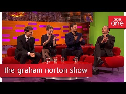 Members of the audience film their own green screen stunts  The Graham Norton   BBC One
