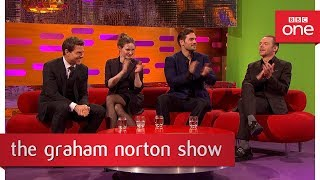 Members of the audience film their own green screen stunts - The Graham Norton Show - BBC One