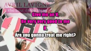 Avril Lavigne - The Best Damn Thing Karaoke / Instrumental