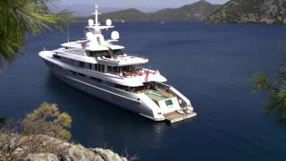 RED SQUARE 73M MEGA YACHT [ 1080 HD ]