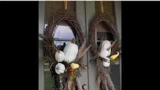 Осенние композиции своими руками Композиции из овощей,листьев идр  материала