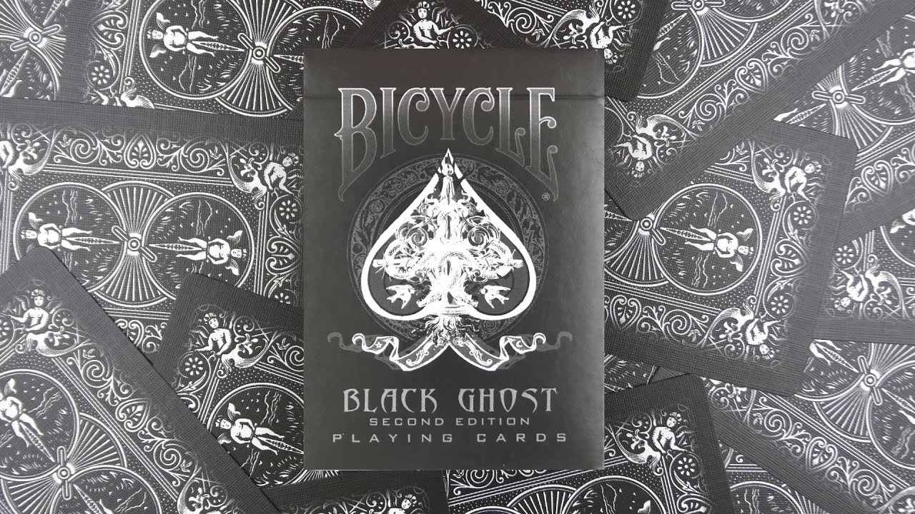 Second Edition Bicycle Black Ghost Playing Cards