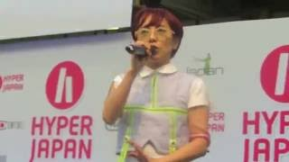 Charisma.Com performing Sapuriminaru Diet live at Hyper Japan 2016 ...