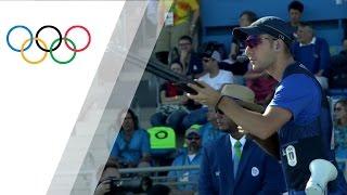 Italy's Rossetti wins gold in Men's Skeet Shooting screenshot 3