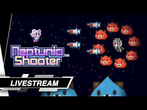 Neptunia Shooter: 8-bit Neptune armed to the teeth! - Gameplay Highlights |