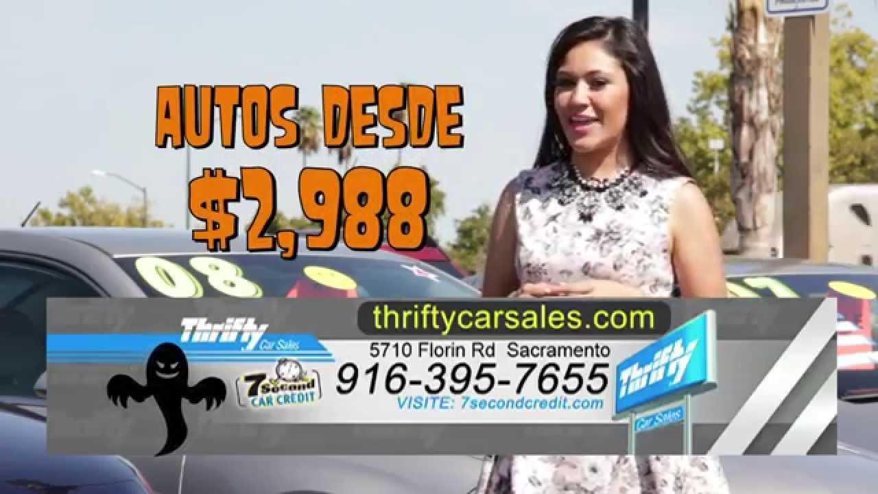 Thrifty Car Sales Sacramento 30 Sec Television Spot