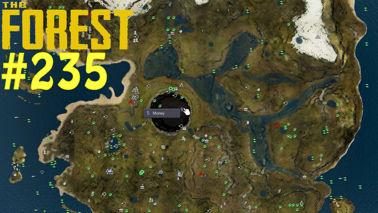 the forest karte THE FOREST #235   ModApi und die Map Mod ☼ Let's Play The Forest