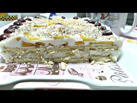 ТОРТ БЕЗ ВЫПЕЧКИ! Рецепт десерта из печенья