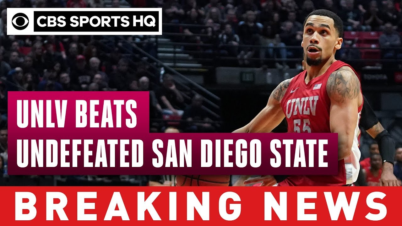No. 4 San Diego State's 26-game win streak ends