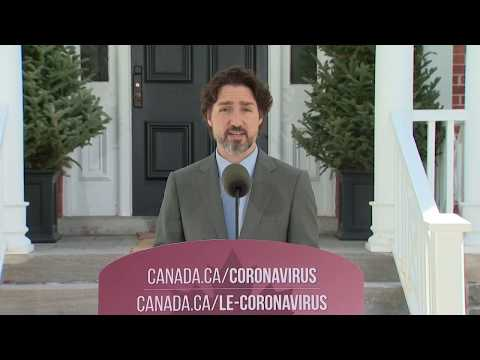WATCH: Prime Minister Justin Trudeau Provides Daily Update On Coronavirus In Canada