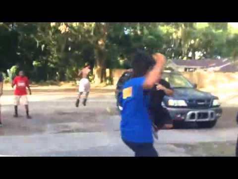 asian vs black street fight - YouTube