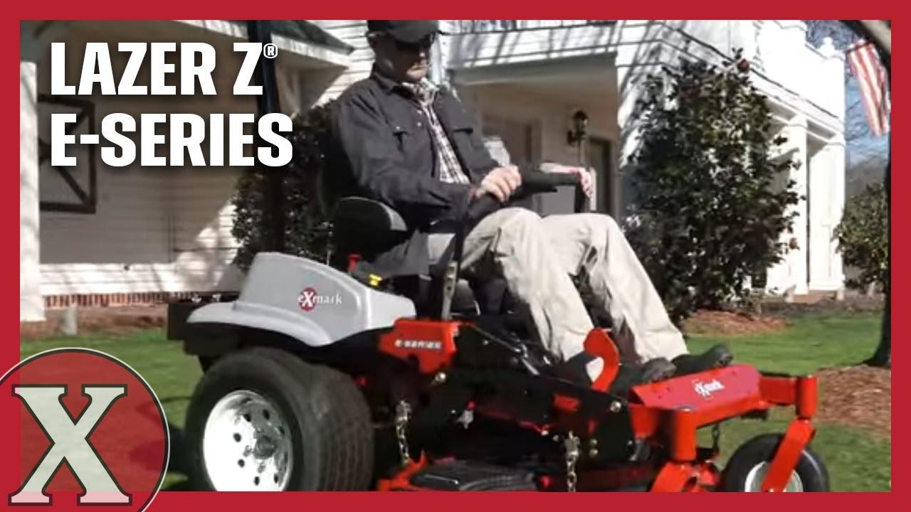 The Exmark Lazer Z E-Series Zero-Turn Mower