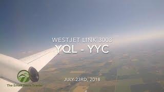 Westjet Link 3003 | Lethbridge (YQL) - Calgary (YYC) | Trip Report 2018