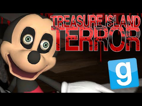 Garry's Mod | TREASURE ISLAND TERROR | Gmod Five Nights at Treasure Island Map with Events