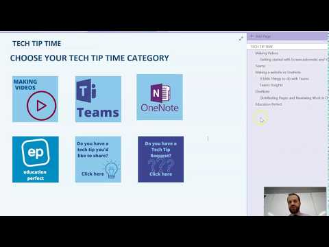 Creating A Website Using OneNote