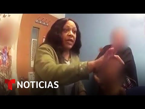 Policías esposan e insultan a un niño de 5 años que escapó de la escuela