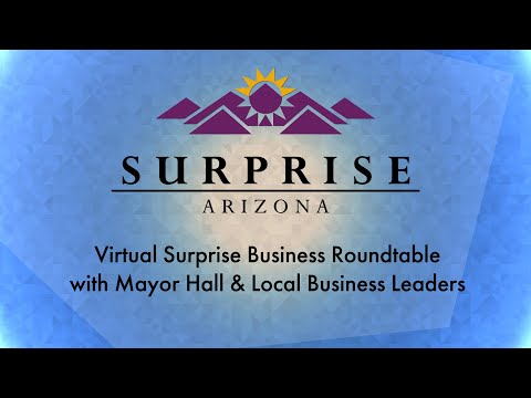 Virtual Surprise Business Roundtable with Mayor Hall & Local Business Leaders video thumbnail