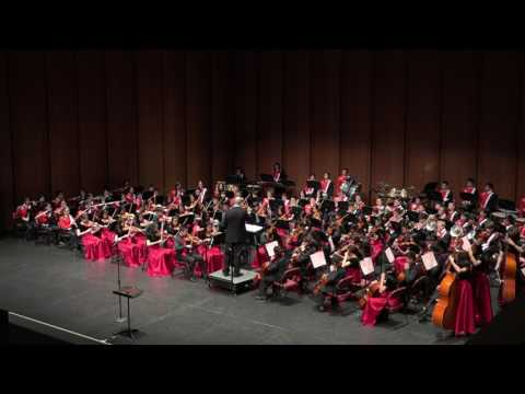 Arcadia Dana Middle School Orchestra III Vertical Concert, Feb. 2017
