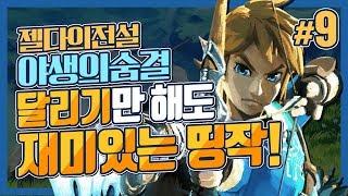대도서관] 젤다의 전설 : 야생의 숨결 9화 - 갓띵작! 달리기만 해도 재미있다! (The Legend of Zelda : Breath of the Wild)