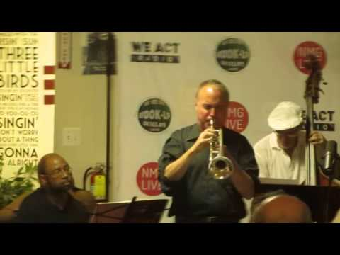 The Pepe Gonzalez Afro-Cuban/Latin Jazz Band @ We Act Radio for the 2015 EastRiverJazz Fest