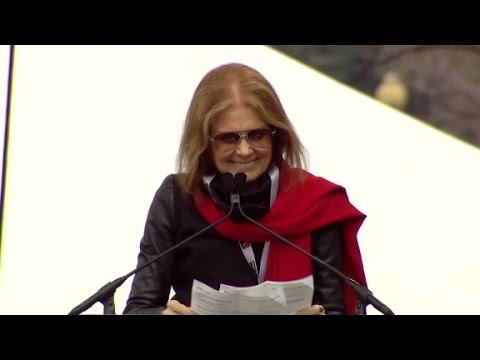 Women's March - Gloria Steinem to Trump: We are the people