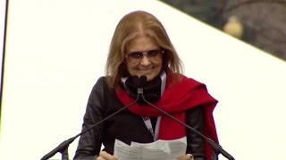 Gloria Steinem to Trump  We are the people