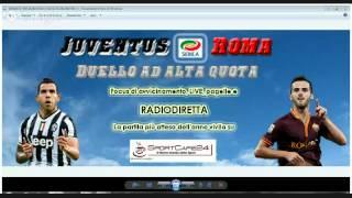 Serie A: Juventus-Roma | Radiocronaca streaming
