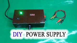 How to make Adjustable Voltage Power Supply Simple IC LM317(DIY - HomeMade make a Adjustable Voltage Power Supply Simple at home use IC LM317 Materials to include... + Transformer 9v, Switch on/off, IC LM317 + ..., 2016-06-10T15:57:01.000Z)