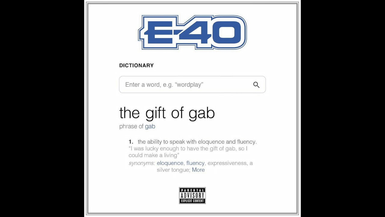E-40 The Gift Of Gab Album Review | HipHopDX