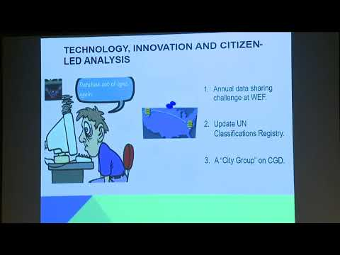 ICSD - Panel: Implementing the Data Revolution for Sustainable Development