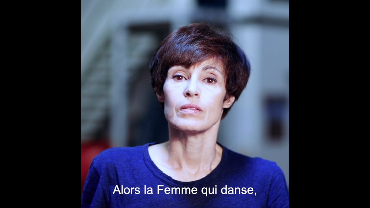 """Interview de Marie-Claude Pietragalla,  """"La Femme qui Danse"""", comment on fabrique un solo."""
