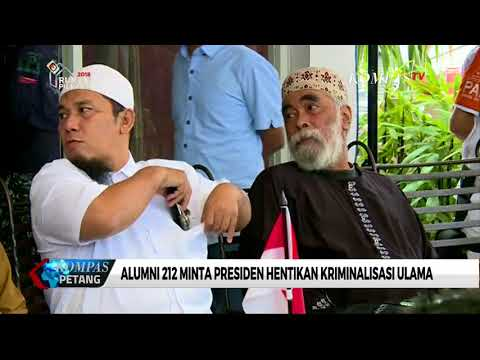 Alumni 212 Jelaskan Isi Pertemuan dengan Presiden Jokowi