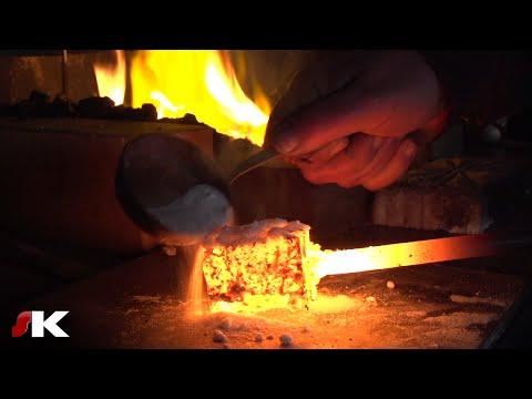Fabrication d'un couteau en Damas (par Philippe Neige) [1/2]