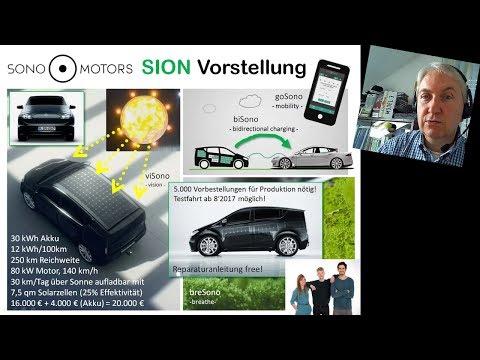 VLog 025: Sion von Sono Motors (KW2017/30)
