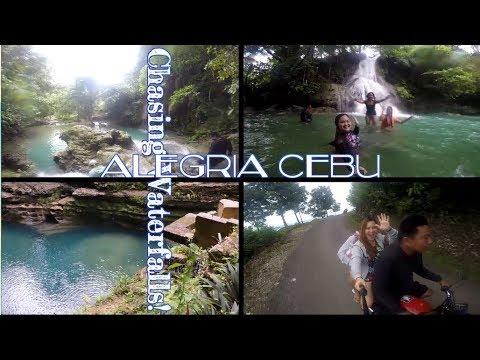 CHASING WATERFALLS! ALEGRIA CEBU TRIP! #onedaytrip #5waterfalls