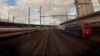 Отправление поезда Цюрих-Женева