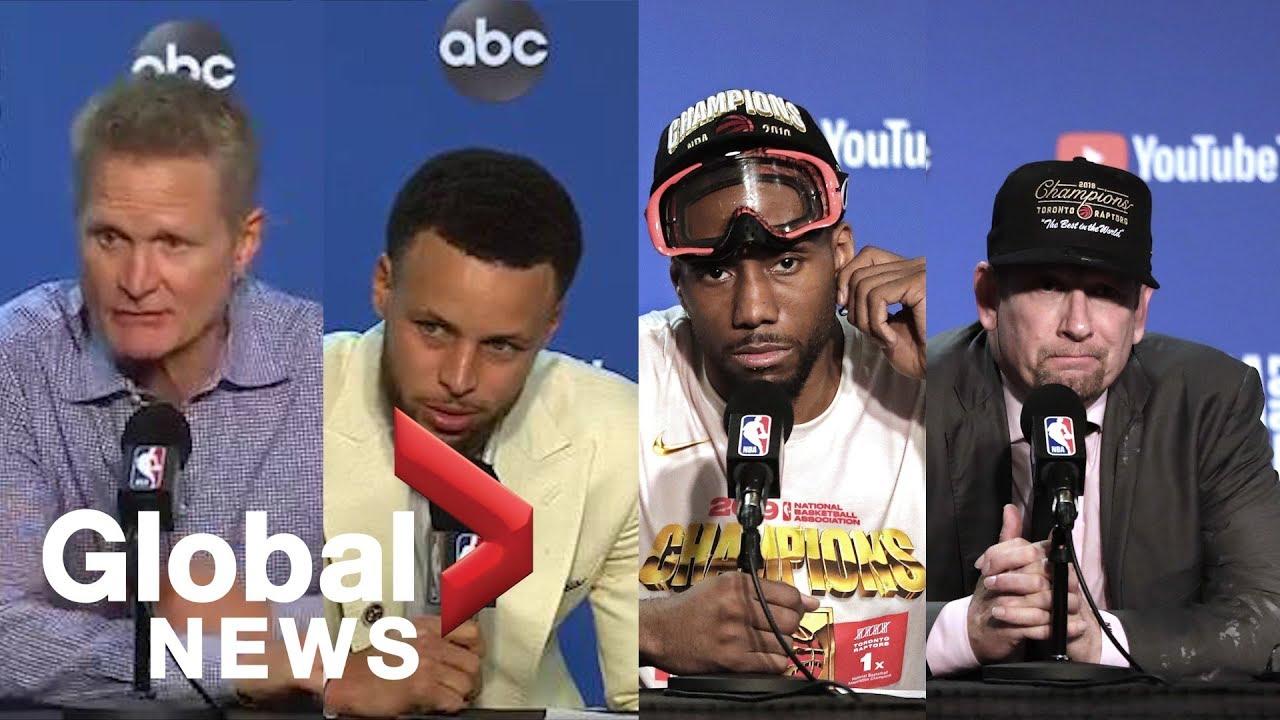 NBA Finals: Raptors/Warriors Game 6 post-game press conference | LIVE
