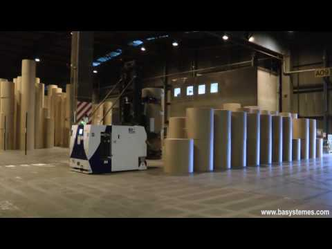 AGV installation at Norske Skog Golbey