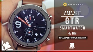 AMAZFIT GTR Smart Watch (47mm) - FULL REVIEW [XIAOMIFY]