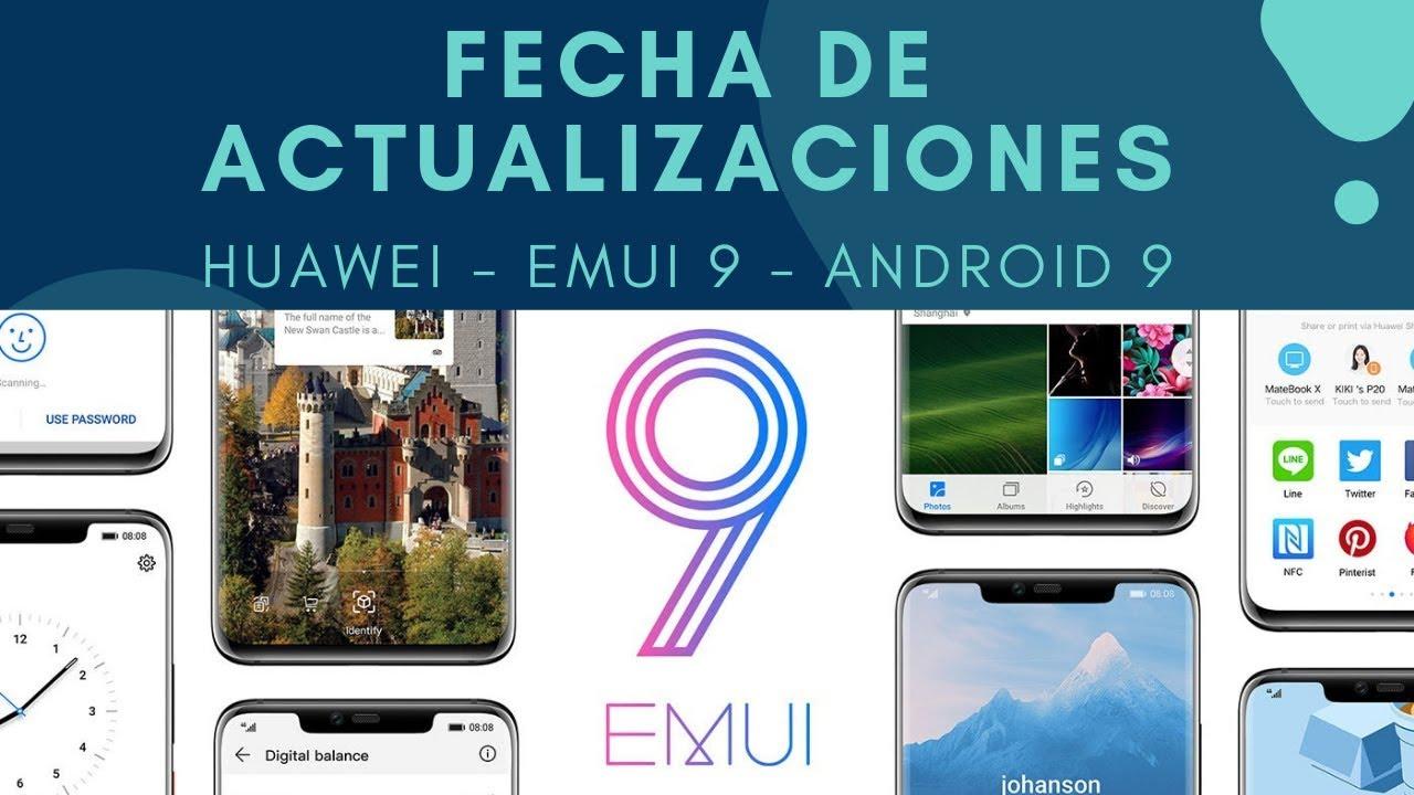 Calendario Huawei.Calendario Fechas De Actualizacion Huawei A Emui 9 1 Android 9