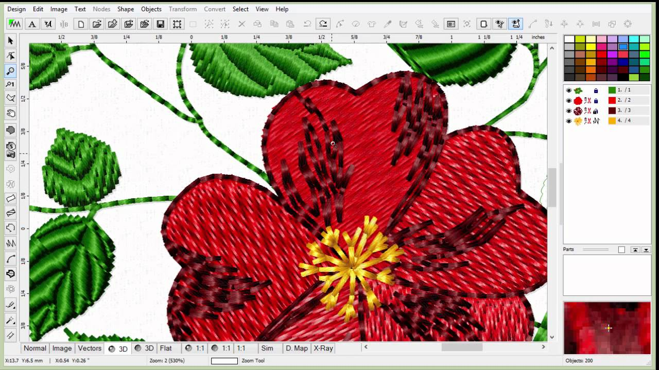Learn To Digitize Embroidery An Introduction To Embird Part 1 E1