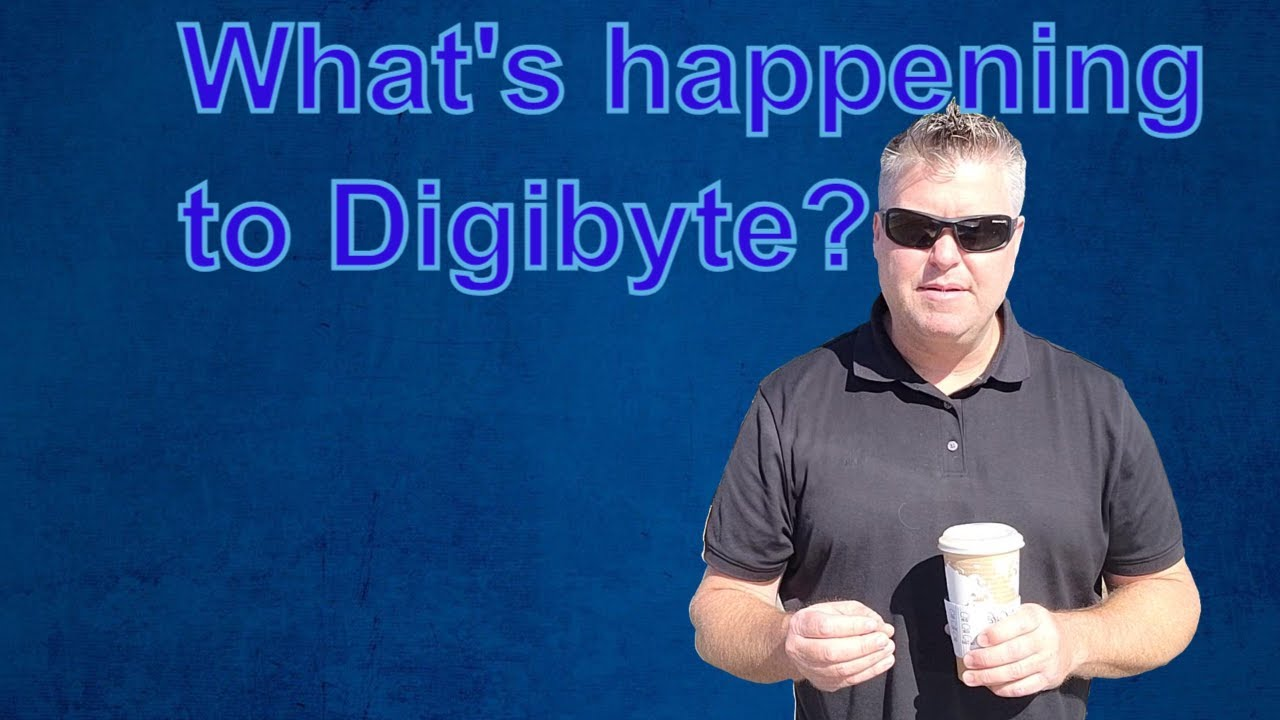 Digibyte news and a new frontier for the DGB comunity w/ Jared and the Ninja!