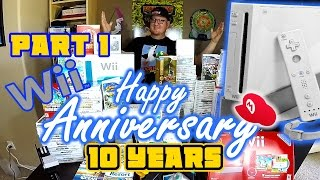 happy 10 year anniversary wii part 1 the nintendo wii console