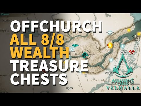 All Offchurch Wealth Treasure Chests Assassin's Creed Valhalla